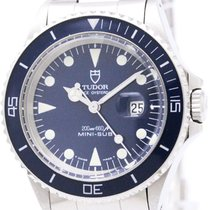 Tudor Polished  Rolex Mini-sub Steel Automatic Watch 73090...