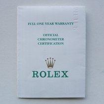 """Rolex Libretto / Booklet per Datejust """"Lady"""""""