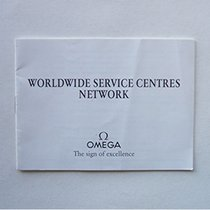"""Omega Booklet """"Worldwide Service Centres Network"""""""