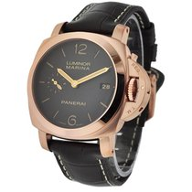 Panerai PAM00393 PAM 393 - 42mm Luminor 1950 in Rose Gold - on...