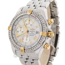 Breitling Chronomat Evolution B13356 Chronograph 18K Steel...