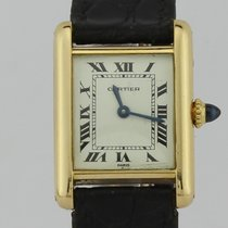 Cartier Tank Francaise Manual Winding 18k Gold Ladies