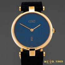 Cartier Must  De  Cartier  30mm  Lapis Lazuli  Dial Lady