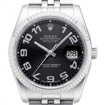Rolex Unworn 116234KAJ Datejust 36mm in Steel with White Gold...