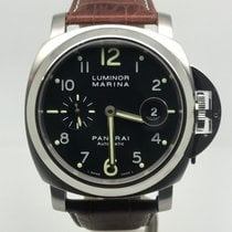 Panerai LUMINOR MARINA BLACK DIAL 44MM AUTOMATIC LIKE NEW