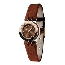 Bulgari B.zero1 Brown Dial 18k Pink Gold Quartz 23mm Ladies...