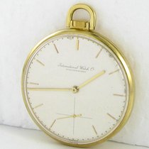 IWC Taschenuhr Cal.97 Probus Scafusia 750 Gold 18kt