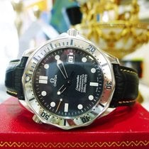 Omega Seamaster Professional 300m Stainless Steel Blue Wave...