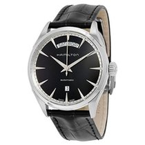Hamilton Jazzmaster Day Date Leather Strap Men's Watch...