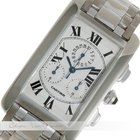 Cartier Tank Americaine Chronograph Weißgold W2603356
