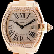 Cartier Roadster Lady en or jaune 18k et pavage diamants