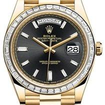 Ρολεξ (Rolex) Day-Date 40 228398 228398TBR-0001 Black Baguette...