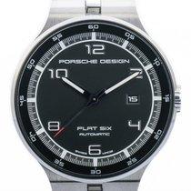 Porsche Design Flat Six P'6350 Stahl Automatik Armband...