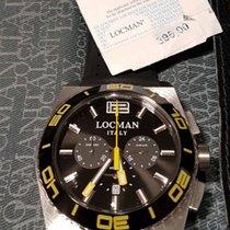 Locman STEALTH Quartz Chronograph  021200KY-BKKSIK