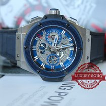 "Hublot King Power ""Special One""  Blue Carbon"