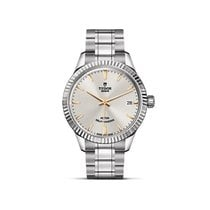 Tudor STYLE Silver Dial Automatic Gold Index Steel M12310.0005