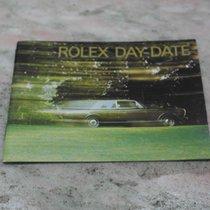Rolex vintage booklet daydate president 1991 german language