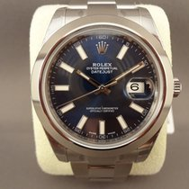 Rolex Datejust II Blue Dial 116300 / 41mm