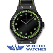 Hublot - CLASSIC FUSION SHINY CERAMIC GREEN Ref. 565.CX.1210.V...