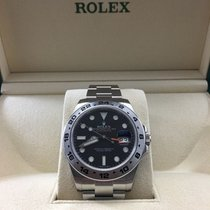ロレックス (Rolex) Explorer II 2 Stainless Steel Black Dial...