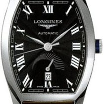 Longines New Men's Evidenza L26724514 Power Reserve Steel