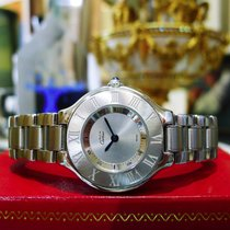 Cartier Must De Cartier 21 Stainless Steel Round Dress Watch