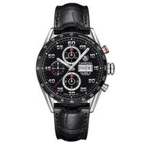 TAG Heuer Carrera Calibre 16 Chronograph Black Strap CV2A1RFC6235