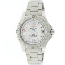 Breitling Colt Oceane 33MM Cream Dial Steel Ladies Watch...
