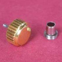 Wasserdichte vergoldete Krone mit Tubus Durchmesser: 7,00mm