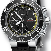 Oris Aquis Depth Gauge Chronograph | 01 774 7708 4154-Set RS