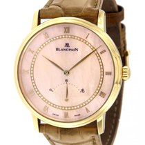 Blancpain Villeret 4063 Yellow Gold, Leather, 40mm