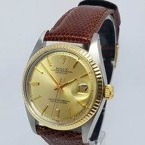 Rolex DateJust 1601 Steel & Gold Mens Watch