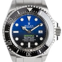 롤렉스 (Rolex) Rolex Deepsea Stainless Steel D-Blue Dial Watch...