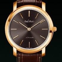 Paul Picot FIRSHIRE extra flat dial bown  strap  skin brown...