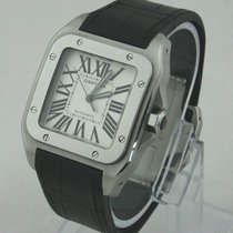 Cartier Santos 100 XL Automatik Herrenuhr Full Set