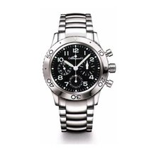 Breguet Type XX Automatic Flyback Chronograph Black Dial...