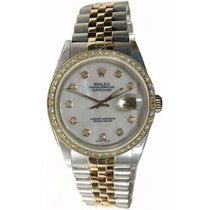 Rolex Datejust Men's Model 16013 Steel and Gold Jubilee...