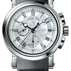 Breguet Marine Chronograph Rubber 18K White Gold Men`s Watch