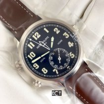 Patek Philippe Complications Calatrava Pilot Travel Time White...