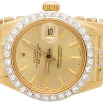 ロレックス (Rolex) Ladies 26mm 18k Yellow Gold Rolex Datejust...