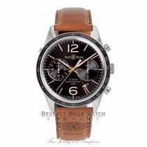 Bell & Ross Vintage Black Dial Flyback Chronograph BRV126