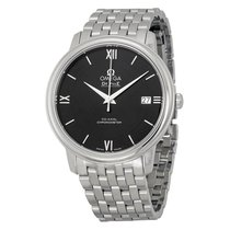 Omega De Ville Prestige Black Dial Automatic Mens Watch...