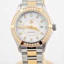 TAG Heuer Aquaracer Diamond 18k Rose Gold & Stainless...