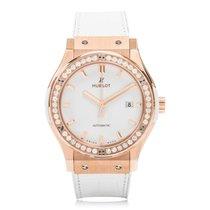 Hublot Classic Fusion Rose Gold Manual Unisex Watch 542.OE.208...
