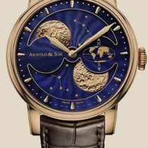 Arnold & Son Royal Collection HM Double Hemisphere...