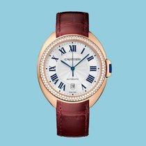 Cartier CLÉ 40 Rotgold Leder -NEU- incl. VAT Export possible