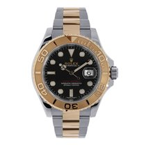 Rolex Yacht-Master 40 Steel & Everose Gold Watch Chocolate...