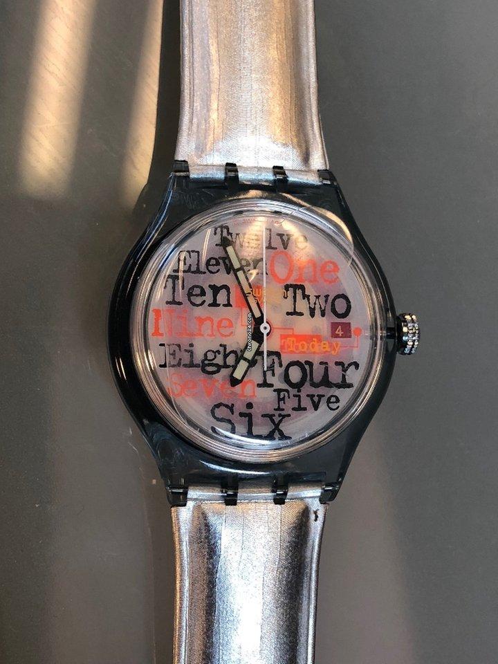 f9761543bfe Swatch Thirteenth Floor por R  341 para vender por um Vendedor particular  na Chrono24