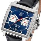 TAG Heuer Monaco Chronograph Herrenuhr Calibre 12 Zifferblatt...