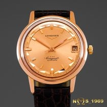浪琴 (Longines) Conquest 18K Rose Gold Automatic BOX